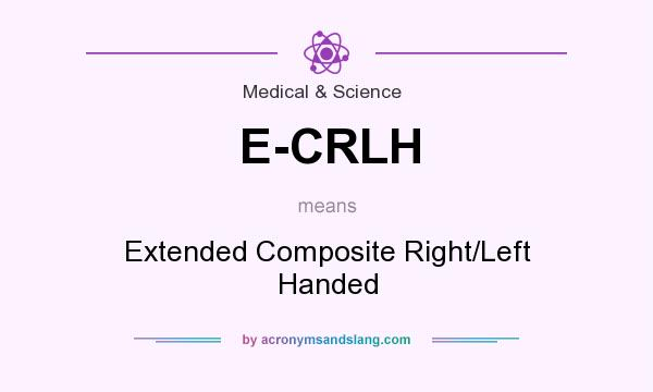 What does E-CRLH mean? It stands for Extended Composite Right/Left Handed