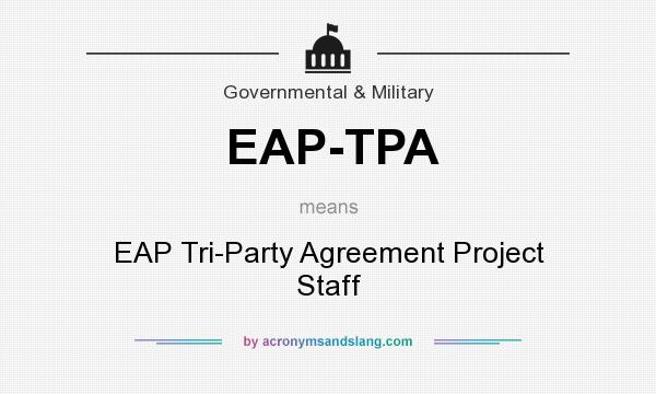 What Does Eap Tpa Mean Definition Of Eap Tpa Eap Tpa Stands For