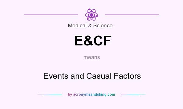 What does E&CF mean? It stands for Events and Casual Factors