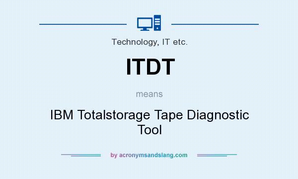 Ibm Tape Diagnostic Tool