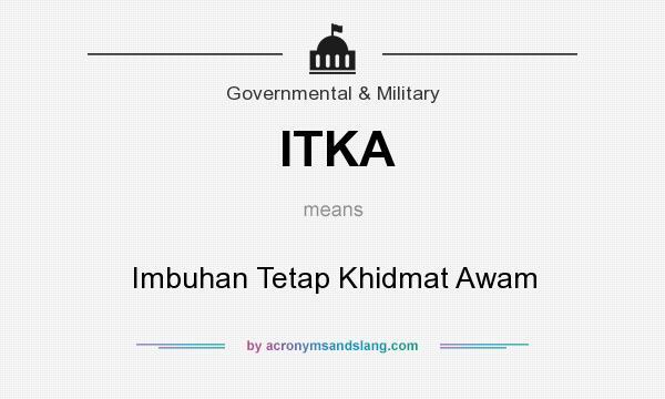 Itka Imbuhan Tetap Khidmat Awam By Acronymsandslang Com