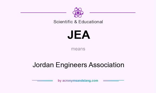What does JEA mean? It stands for Jordan Engineers Association