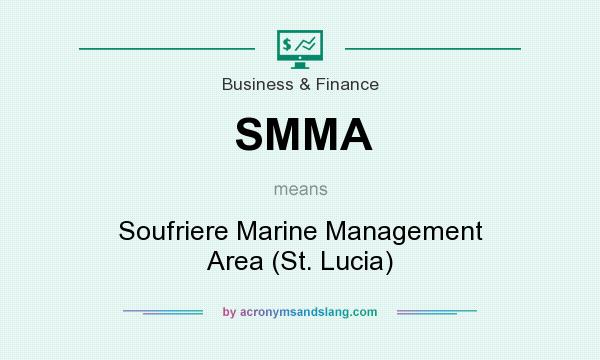 What does SMMA mean? It stands for Soufriere Marine Management Area (St. Lucia)