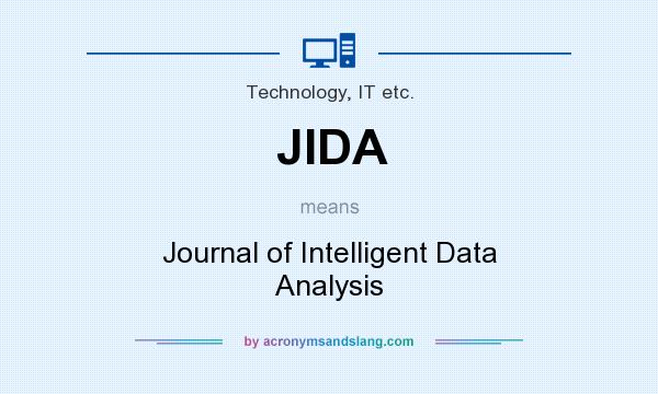 What does JIDA mean? It stands for Journal of Intelligent Data Analysis