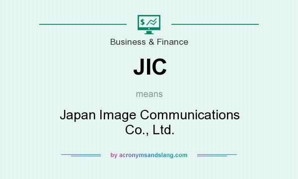 What does JIC mean? It stands for Japan Image Communications Co., Ltd.