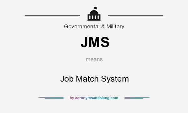 Government job match