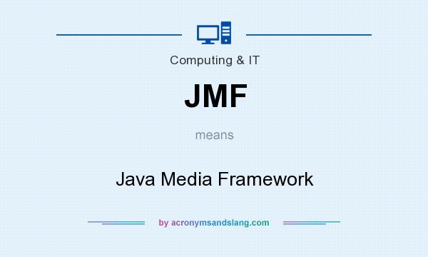 What does JMF mean? It stands for Java Media Framework