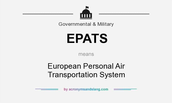 What does EPATS mean? - Definition of EPATS - EPATS stands