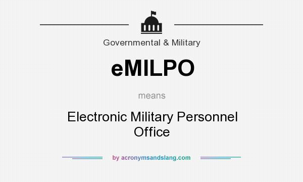 What does eMILPO mean? - Definition of eMILPO - eMILPO stands for