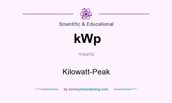 Kilowatt peak