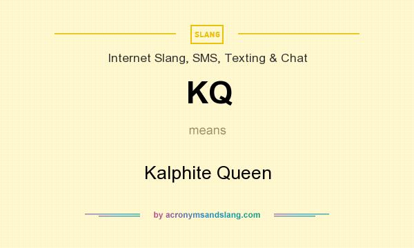 What does KQ mean? It stands for Kalphite Queen