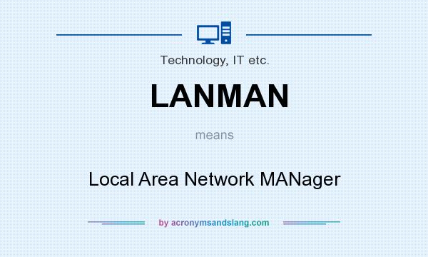 What does LANMAN mean? It stands for Local Area Network MANager