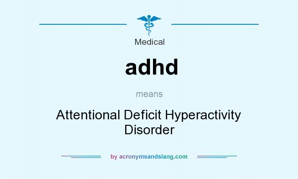 an introduction to attention deficit hyperactivity disorder adhd
