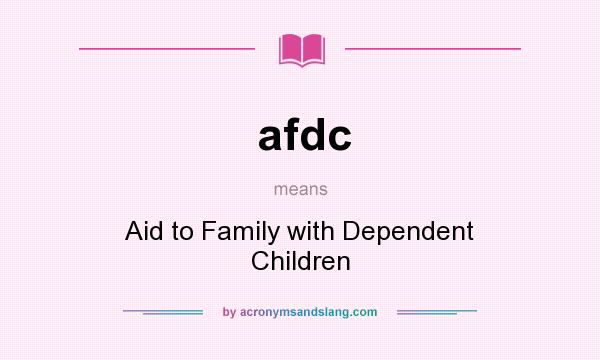an analysis of the aid to families with dependent children program Aid to families with dependent children (children with absent parents) by north carolina division of social services reports and program analysis branch, 1974, north carolina dept of human resources, division of social services, reports and program analysis edition, in english.