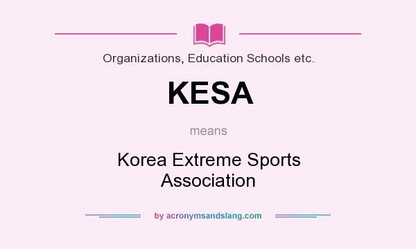 KESA - Korea Extreme Sports Association in Organizations