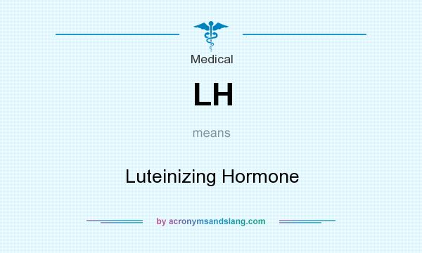 What does LH mean? It stands for Luteinizing Hormone