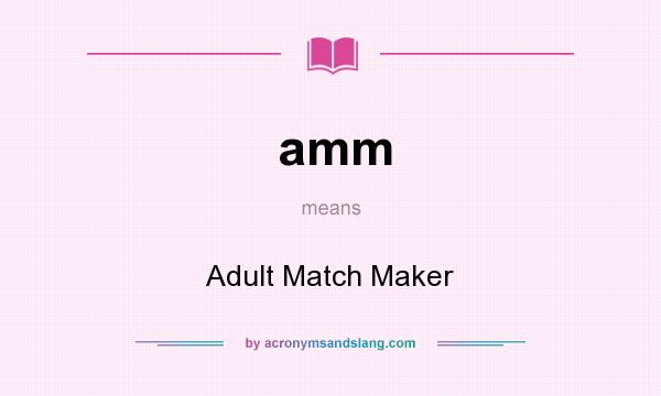 Match promotions adult maker
