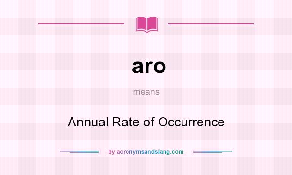 the annual rate of occurrence aro column Counting with value_counts() in this lesson, you'll be working with the watsi pageview data, which we first saw in the last lesson in the previous lesson, you selected rows, columns, and records in that dataset.