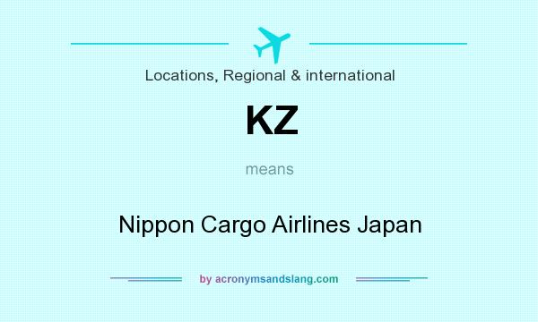 What does KZ mean? It stands for Nippon Cargo Airlines Japan