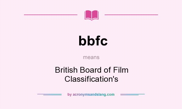 a report on the classification of a film