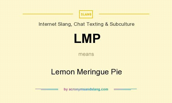 Lmp Slang