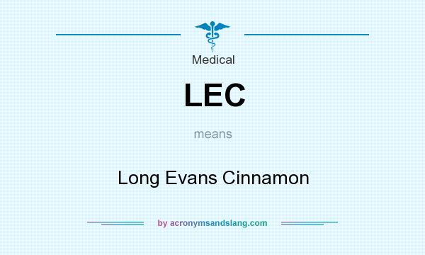 What does LEC mean? It stands for Long Evans Cinnamon