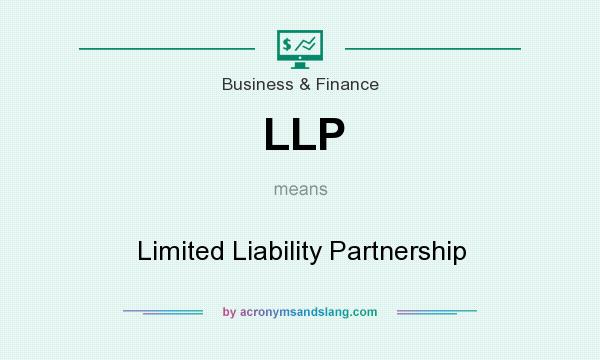 What does LLP mean? It stands for Limited Liability Partnership