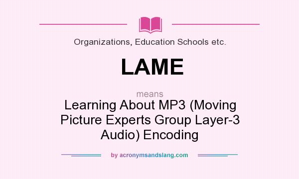LAME - Learning About MP3 (Mov...