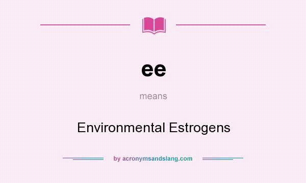 environmental estrogens
