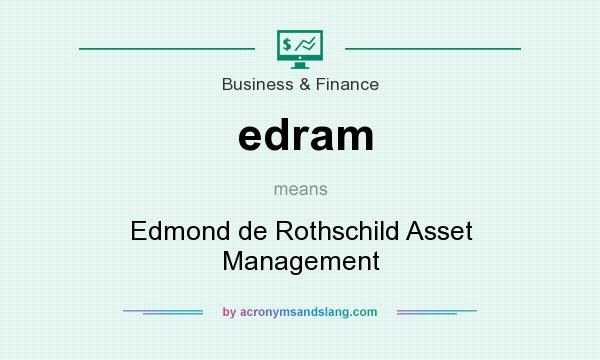 What does edram mean? It stands for Edmond de Rothschild Asset Management