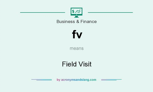 What does fv mean? It stands for Field Visit