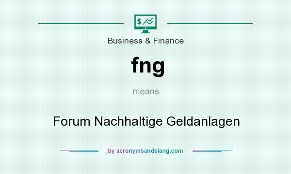 What does fng mean? It stands for Forum Nachhaltige Geldanlagen
