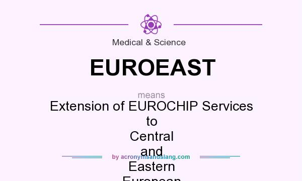 What does EUROEAST mean? It stands for Extension of EUROCHIP Services to Central and Eastern European Countries