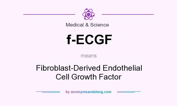 What does f-ECGF mean? It stands for Fibroblast-Derived Endothelial Cell Growth Factor