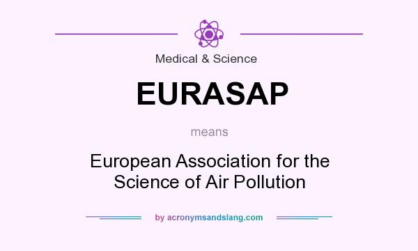 What does EURASAP mean? It stands for European Association for the Science of Air Pollution