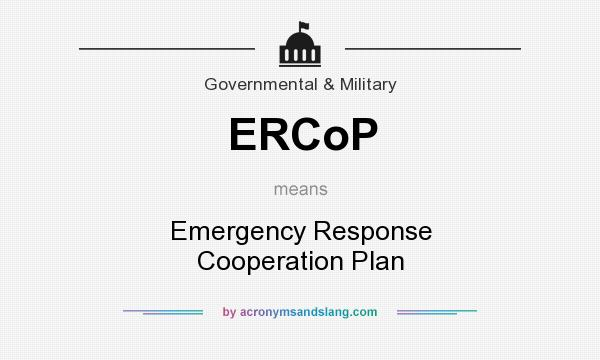 What does ERCoP mean? - Definition of ERCoP - ERCoP stands