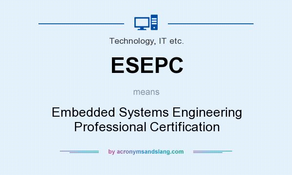 What does ESEPC mean? - Definition of ESEPC - ESEPC stands for ...