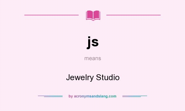 js - Jewelry Studio in Undefined by AcronymsAndSlang com