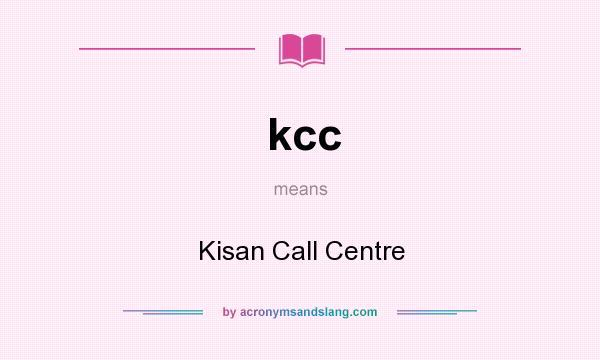 kisan call centres