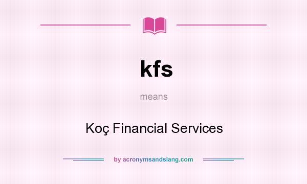koc financial services