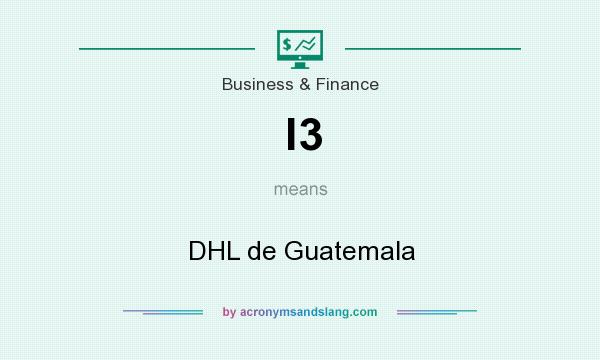 What does l3 mean? It stands for DHL de Guatemala