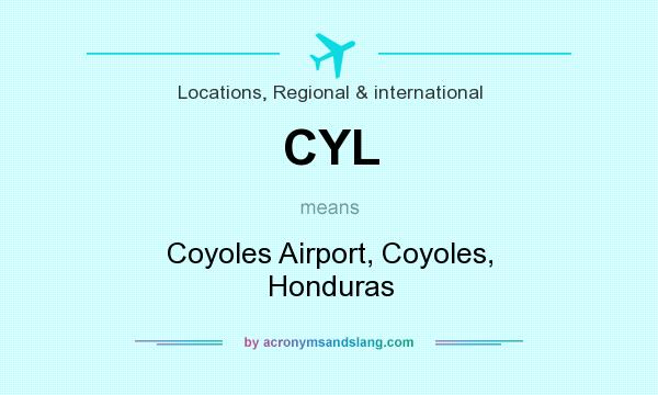 Cyl Coyoles Airport Coyoles Honduras In Locations Regional