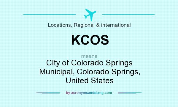 KCOS - City of Colorado Springs Municipal, Colorado Springs