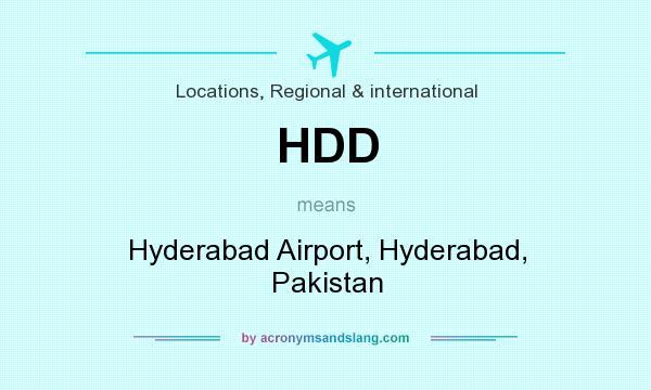 HDD - Hyderabad Airport, Hyderabad, Pakistan in Locations