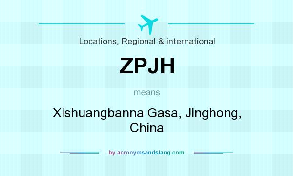 What does ZPJH mean? It stands for Xishuangbanna Gasa, Jinghong, China