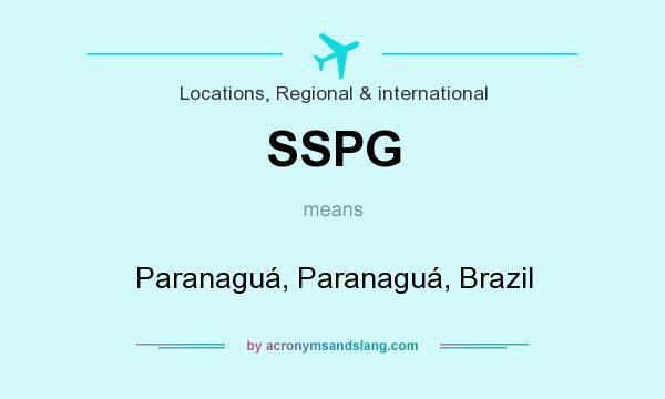 What does SSPG mean? It stands for Paranaguá, Paranaguá, Brazil