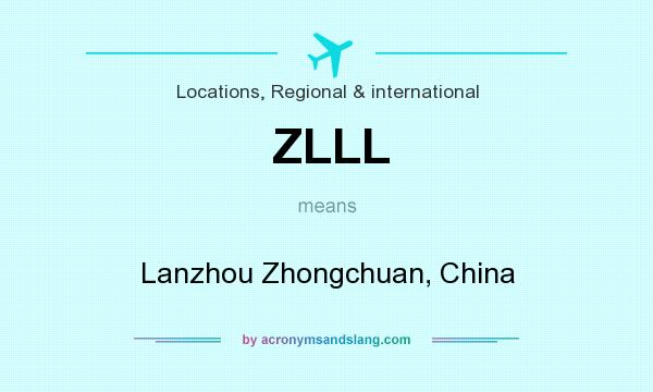 What does ZLLL mean? It stands for Lanzhou Zhongchuan, China