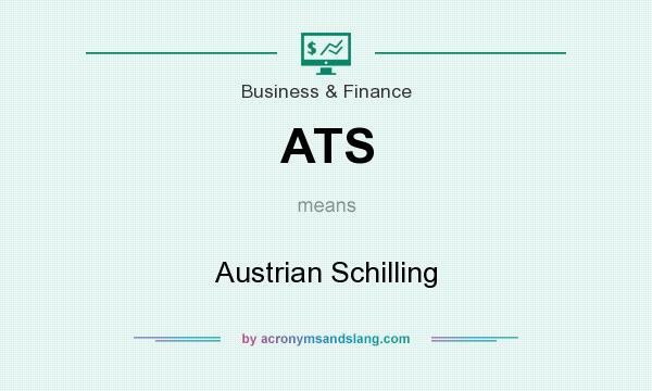 What does ATS mean? It stands for Austrian Schilling