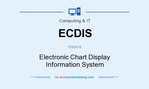 What does ECDIS mean? It stands for Electronic Chart Display Information System