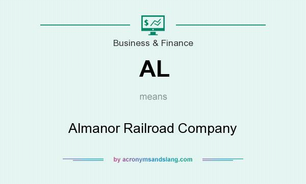 What does AL mean? It stands for Almanor Railroad Company